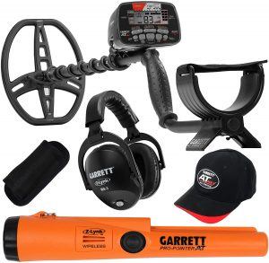 garrett at max waterproof metal detector
